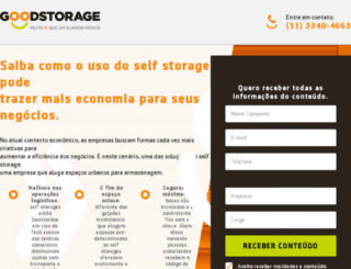 empresasgoodstorage.com.br screenshot