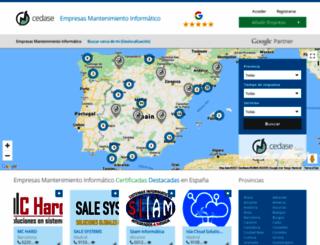 empresasmantenimientoinformatico.com screenshot