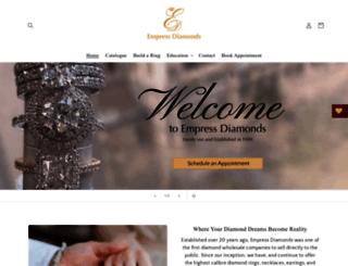 empressdiamonds.com.au screenshot