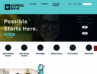 emprisebank.com screenshot