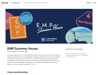 empsummerhouse.tocktix.com screenshot