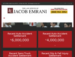 emrani.wpengine.com screenshot