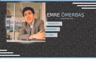 emreomerbas.com screenshot