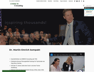emrich-consulting.de screenshot