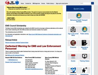 ems.mesacounty.us screenshot