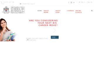 emsbm.org.uk screenshot