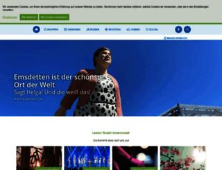emsdettener-winterzauber.de screenshot