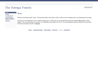 emtage.org screenshot