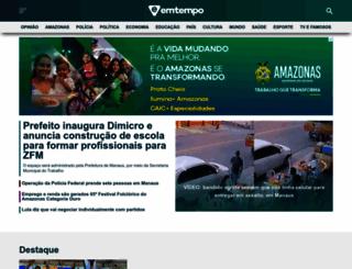 emtempo.com.br screenshot