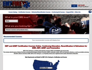 emtfiretraining.com screenshot