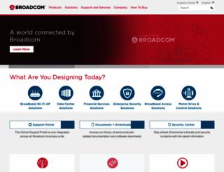 emulex.com screenshot
