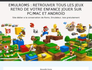 emulroms.com screenshot