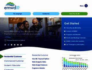 emwd.org screenshot