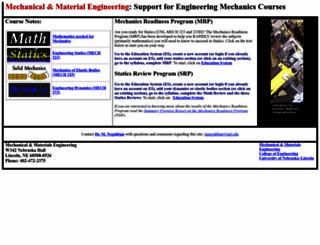 emweb.unl.edu screenshot