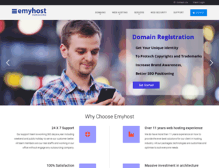 emyhost.com screenshot