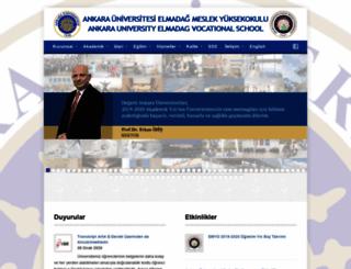 emyo.ankara.edu.tr screenshot