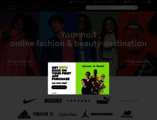 en-ae.namshi.com screenshot