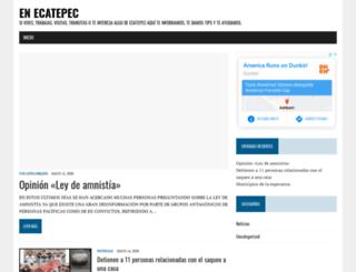 en-ecatepec.com screenshot