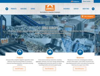 en-gb.eriez.com screenshot
