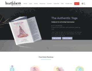 en-in.heartfulness.org screenshot
