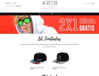 en.aftersunglasses.com screenshot