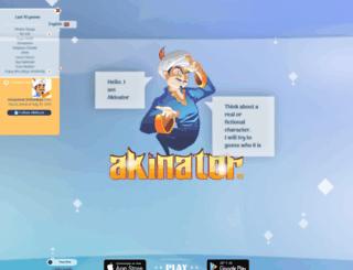 en.akinator.mobi screenshot