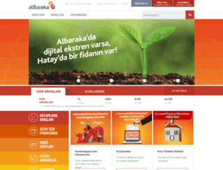 en.albarakaturk.com.tr screenshot