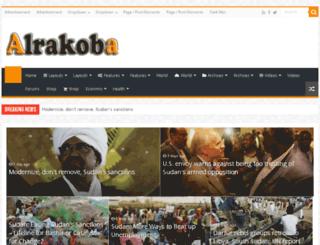 en.alrakoba.net screenshot