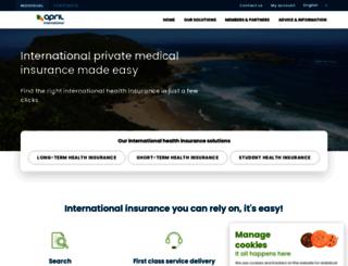 en.april-international.com screenshot