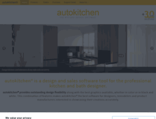 en.autokitchen.com screenshot
