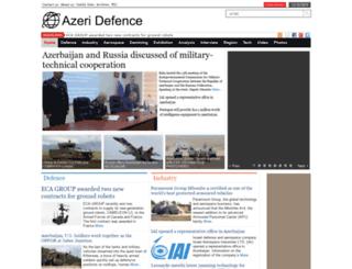 en.azeridefence.com screenshot