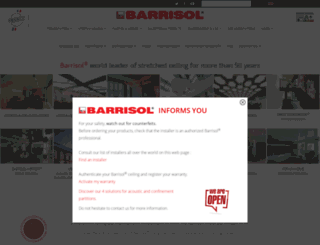 en.barrisol.com screenshot