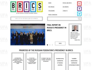 en.brics2015.ru screenshot
