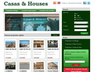 en.casas-houses.es screenshot
