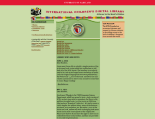 en.childrenslibrary.org screenshot