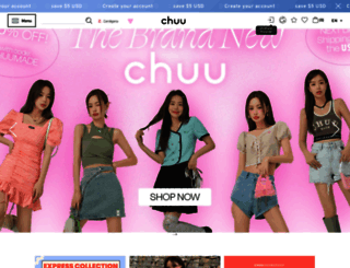 en.chuu.co.kr screenshot