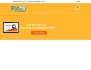en.content-plans.com screenshot