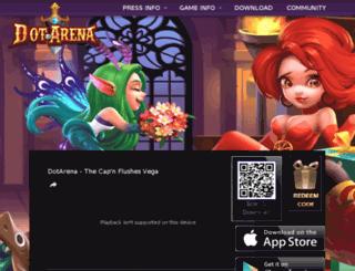 en.dotarena.com screenshot