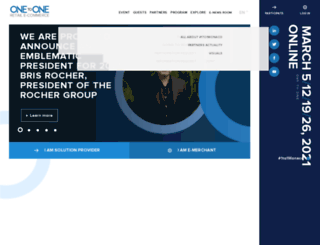 en.ecommerce1to1.com screenshot