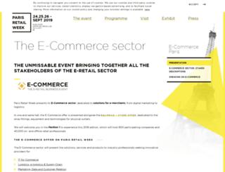en.ecommerceparis.com screenshot