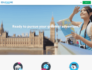 en.edufindme.com screenshot