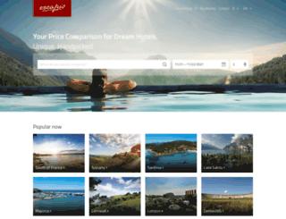 en.escapio.com screenshot