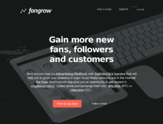 en.fangrow.com screenshot