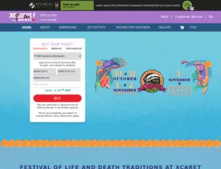 en.festivaldevidaymuerte.com screenshot