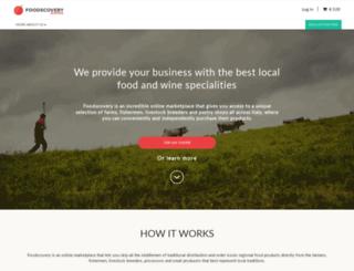 en.foodscovery.com screenshot