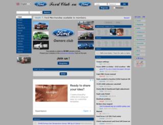 en.fordclub.eu screenshot