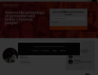 en.geneastar.org screenshot