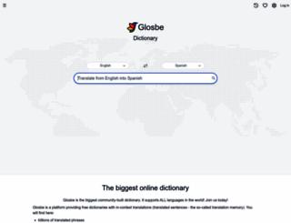 en.glosbe.com screenshot