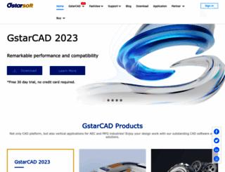 en.gstarcad.com screenshot