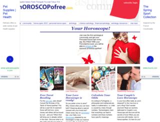 en.horoscopofree.com screenshot